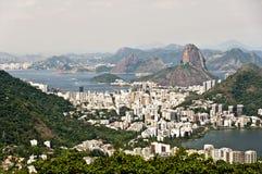 Skyline Rio de Janeiro, Brazil Royalty Free Stock Photography