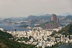 Skyline Rio de Janeiro, Brazil Royalty Free Stock Photos