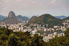 Skyline Rio de Janeiro, Brazil Royalty Free Stock Images