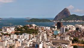Skyline Rio de Janeiro Royalty Free Stock Photography
