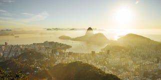 Rio de Janeiro with Sugarloaf mountain, Brazil royalty free stock photo