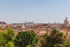 Skyline of Rome Royalty Free Stock Photos
