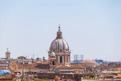 Skyline of Rome Royalty Free Stock Photo