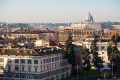 Skyline of Rome, Italy Royalty Free Stock Photography