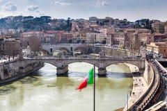 Skyline of Rome Stock Image