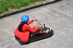 Skyline Rotorua Luge in Rotorua city - New Zealand Royalty Free Stock Photography