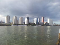 Skyline Rotterdam Imagem de Stock