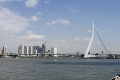 Skyline Rotterdam Stock Image