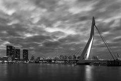 Skyline Rotterdam Stock Images