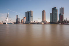 Skyline of rotterdam Stock Image