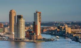 Skyline of Rotterdam Royalty Free Stock Photo