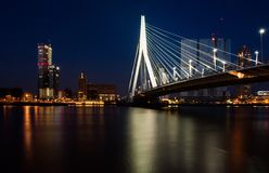 Skyline rotterdam Royalty Free Stock Photography