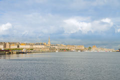 Skyline of  Saint Malo, France Royalty Free Stock Images