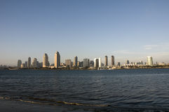 Skyline of San Diego Royalty Free Stock Photo