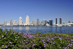 Skyline of San Diego Stock Photos