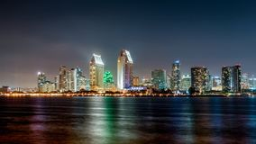 Skyline of San Diego royalty free stock photo