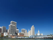 Skyline of San Francisco Royalty Free Stock Images