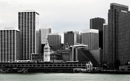 Skyline San Francisco Royalty Free Stock Photography