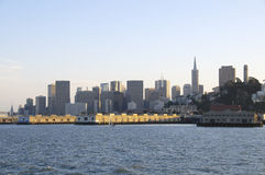 Skyline san francisco Stock Image