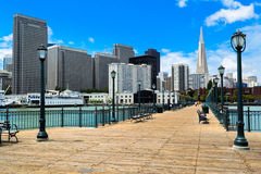 Skyline of San Francisco Stock Photography