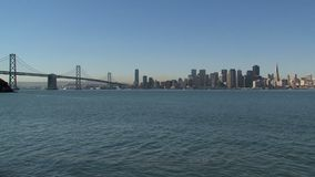 Skyline San Francisco video estoque