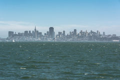 The skyline of San Francisco by the Bay Stock Photography