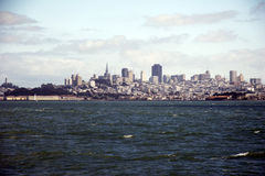 Skyline of San Francisco, California, USA Royalty Free Stock Image