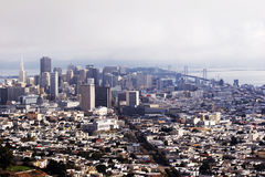 Skyline San Francisco, California, USA Royalty Free Stock Image