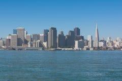 The skyline of San Francisco Stock Photos