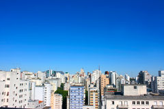 Skyline of Sao Paulo Royalty Free Stock Photos