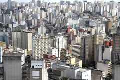 Skyline of Sao Paulo Stock Photography