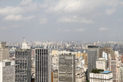 Skyline of Sao Paulo Royalty Free Stock Photo
