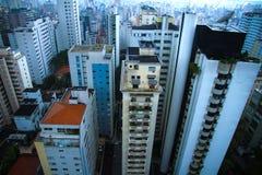 Skyline of Sao Paulo Stock Images