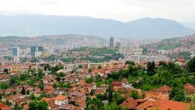Skyline of Sarajevo no.2 Stock Photos