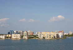 Skyline of Sarasota, Florida Stock Photography