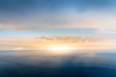 Skyline on the sea Royalty Free Stock Photos