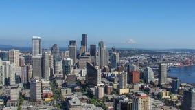 Skyline of Seattle Royalty Free Stock Photo