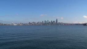 Skyline Seattle, United States stock video footage
