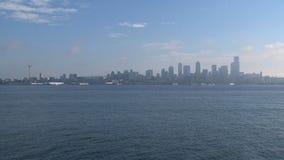 Skyline Seattle, United States stock video footage
