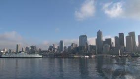 Skyline Seattle, United States stock footage