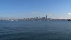 Skyline Seattle, Vereinigte Staaten stock video footage