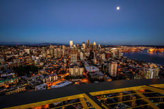 Skyline Seattle-Washington Lizenzfreies Stockbild