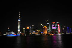 Skyline Shanghai Fotos de Stock