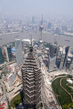 Skyline of Shanghai, China Royalty Free Stock Photos