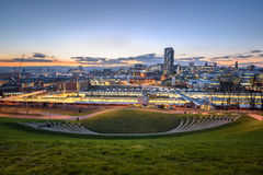 Skyline sheffield south yorkshire Royalty Free Stock Photo
