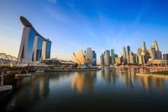 Skyline of Singapore Royalty Free Stock Photos