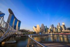 Skyline of Singapore Royalty Free Stock Photography