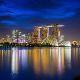 Skyline of Singapore Stock Photos