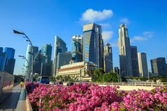 Skyline of Singapore Stock Photography