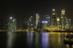 Skyline of Singapore Stock Photo